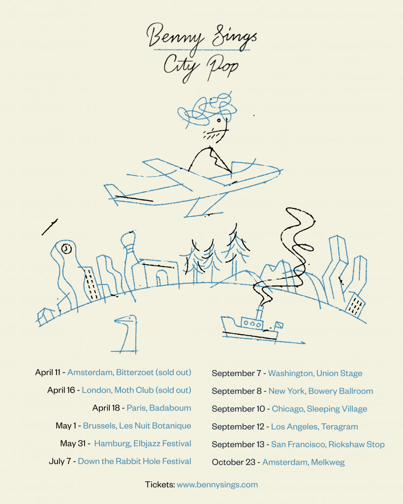 New US dates for Benny Sings